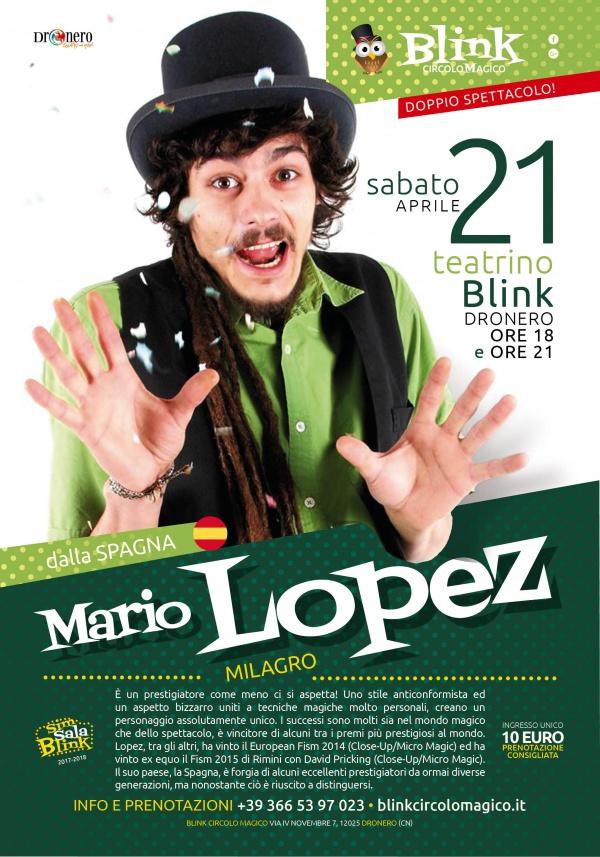 MARIO LOPEZ: MILAGRO
