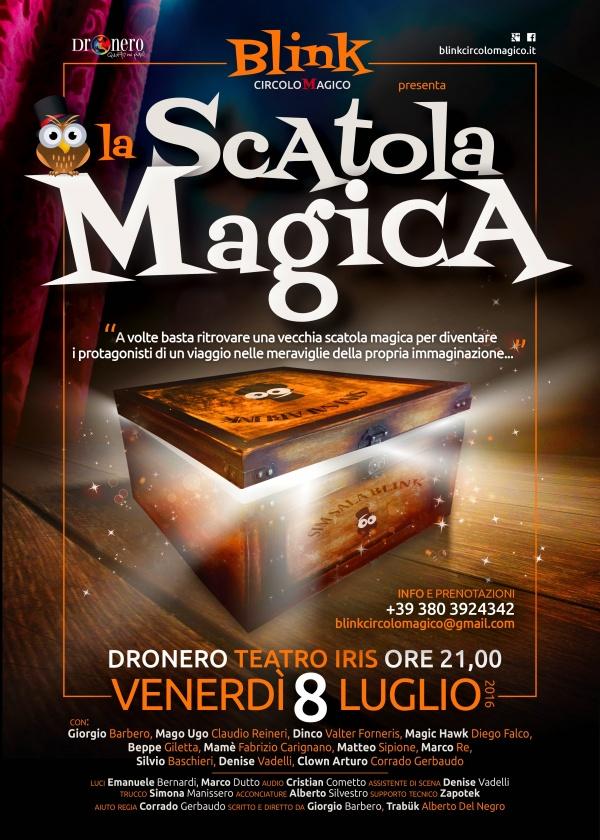 La scatola magica Dronero